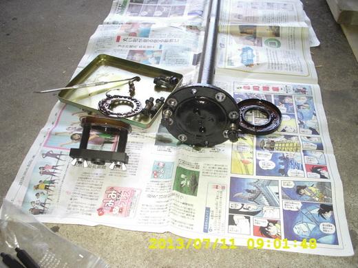 キャンター後輪ブレーキ1A
