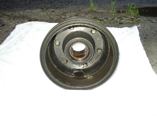 キャンター後輪ブレーキ7A