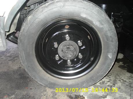03-キャンター前輪ブレーキオーバーホール1