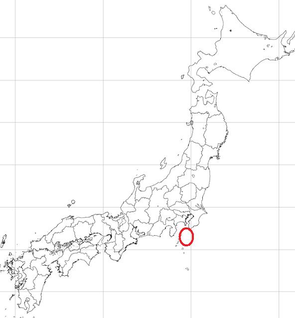 イオン震源地図