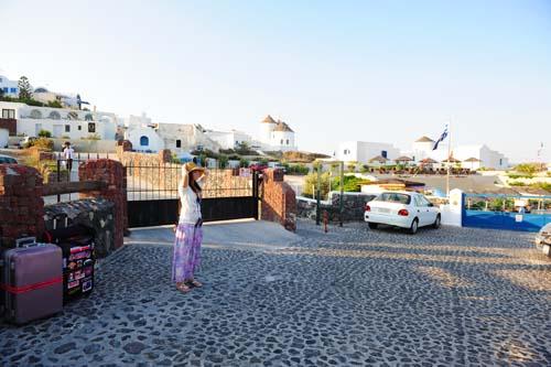 ファナリヴィラの駐車場