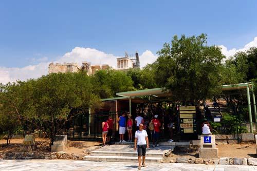 アクロポリスの入口