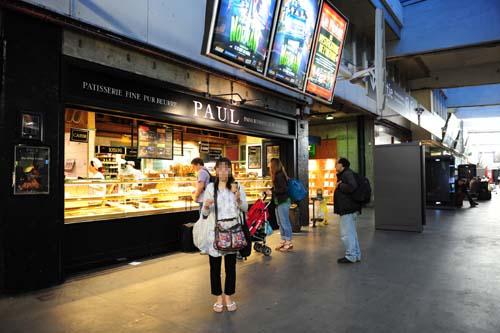 モンパルナス駅のパン屋さん