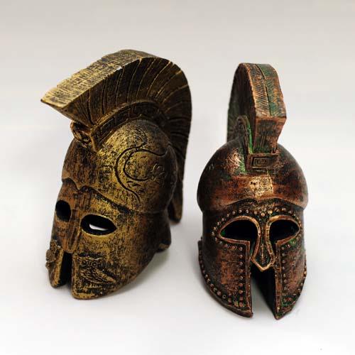 仮面の置物
