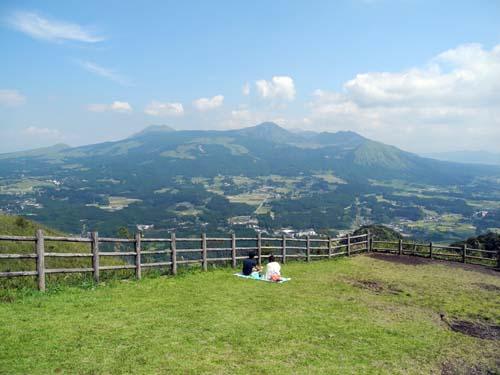 俵山からの眺め