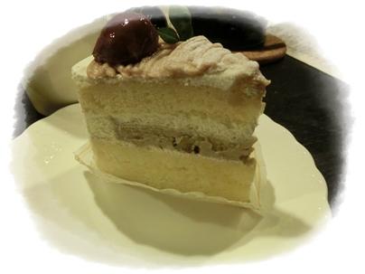 もりん「栗のショートケーキ」