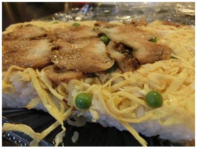 お年賀「アナゴ寿司」1