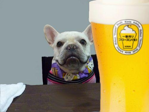 ビールじゃ