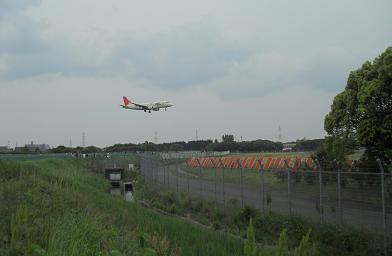 1 大阪空港・滑走路の端っこ