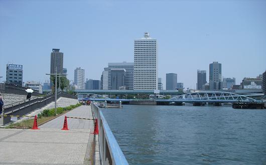 12 大阪市中央卸市場を後に
