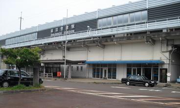 23 近江今津駅