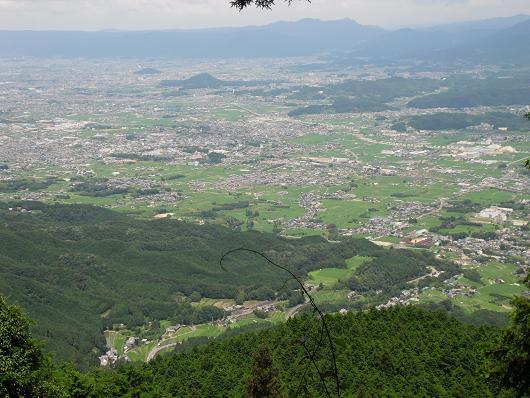 12 見晴台より奈良盆地
