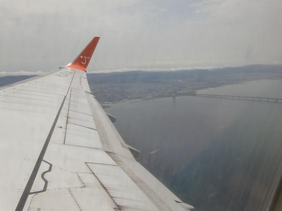 2 離陸・関空・連絡橋