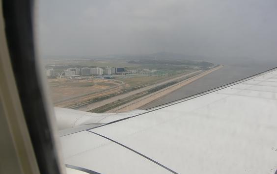 7 仁川空港・着陸寸前