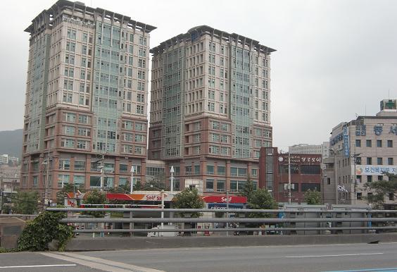 10 ソウル市内の景色