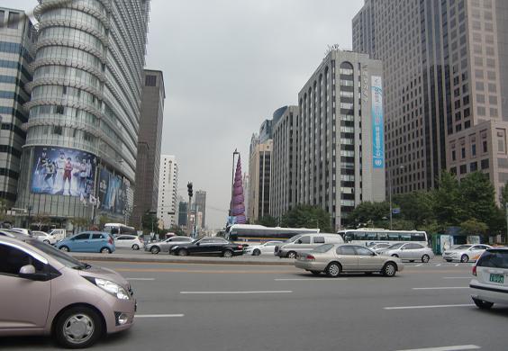 11 ソウル市内の景色