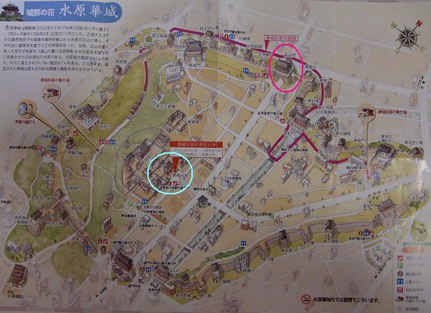 9 水原華城のマップ