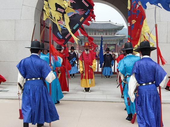 4 景福宮・衛兵の交代式
