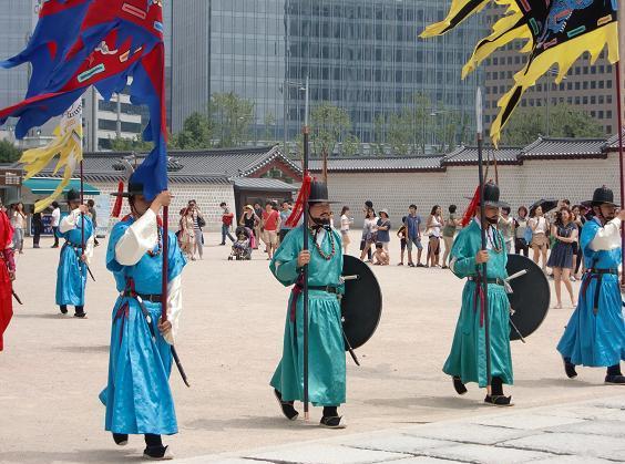 5 景福宮・衛兵の交代式