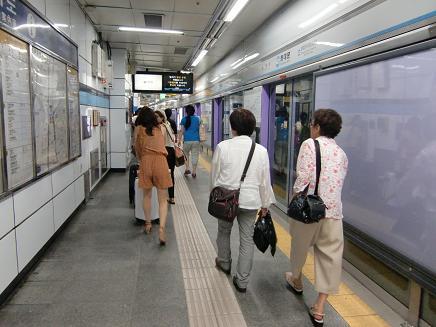 22 地下鉄の駅