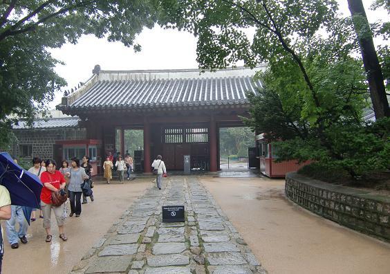 9 世界遺産・宗廟・外大門