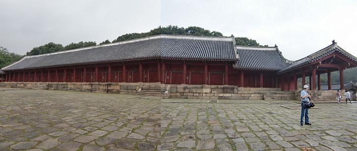 12 宗廟・正殿の全景