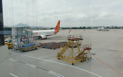 18 金浦空港・搭乗