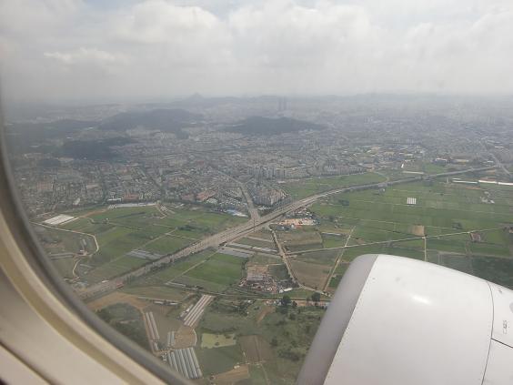 19 金浦空港・離陸上昇