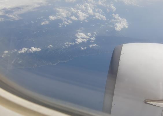22 眼下は島根県の海岸線