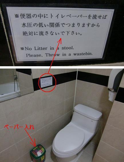 4 庶民的ホテルのトイレ