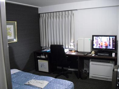 5 宿泊のビジネスホテル・室内