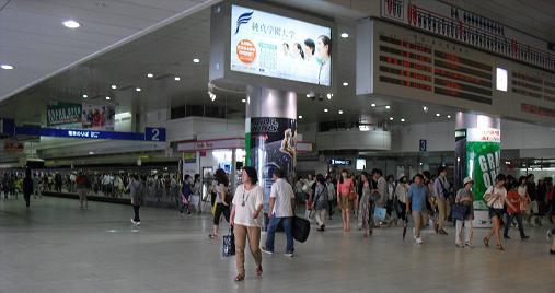 1 西鉄・天神駅・ホーム