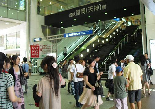 2 西鉄・天神駅