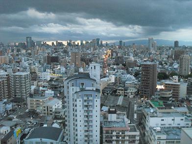 4 大阪市内方面