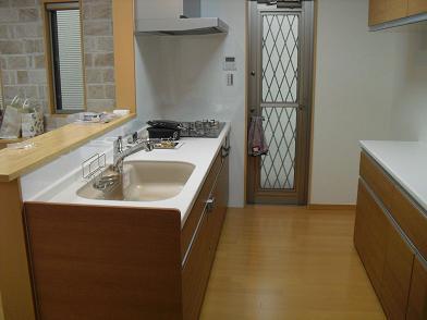 6 新居・キッチン