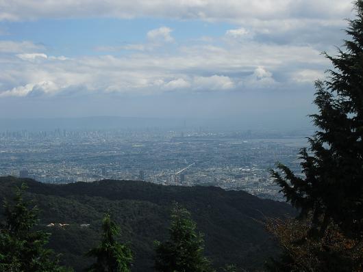 3 東お多福山より大阪湾