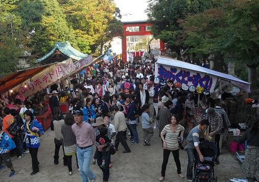 2 秋祭り・龍田大社