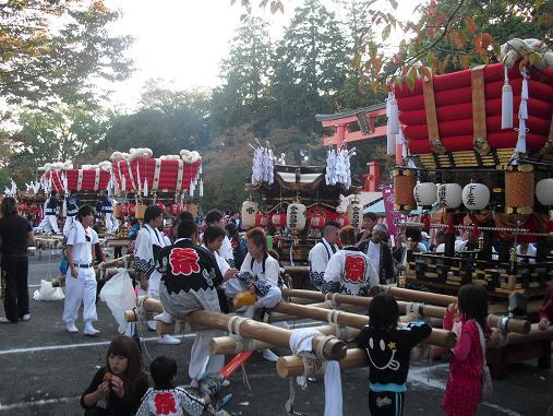 5 秋祭り・龍田大社