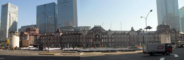 6 東京駅全景