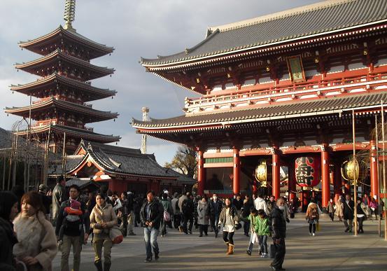 8 浅草寺・宝蔵門
