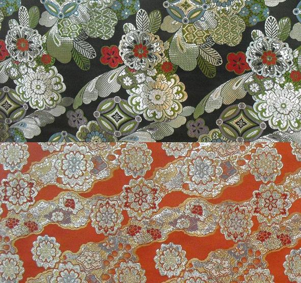 3 金糸銀糸の織物