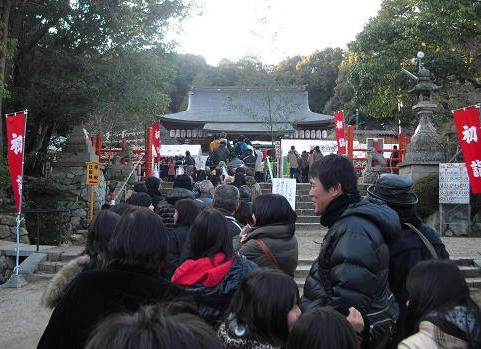 5 龍田大社・初詣