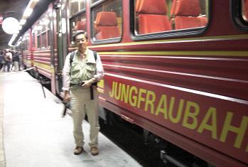 11 ユングフラウ登山電車