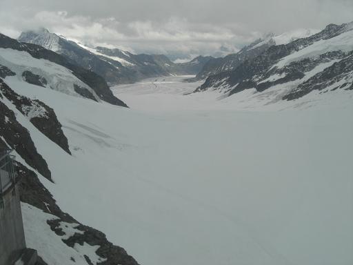 13 アレッチ氷河