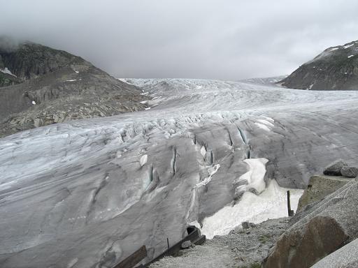 2 ローヌ氷河
