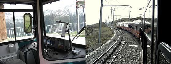 2 ゴルナーグラート登山鉄道