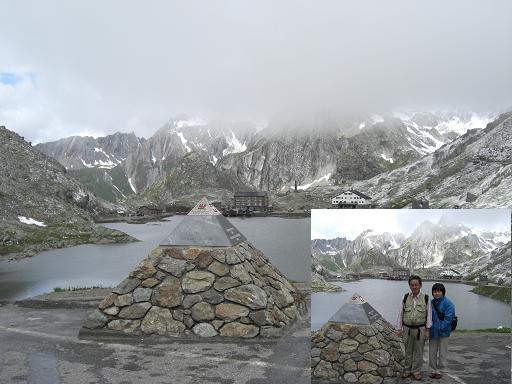 4 イタリアとの国境・サンベルナール峠