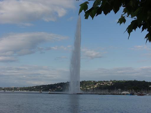 16 スイス・ジュネーブ・レマン湖