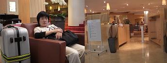 7 ジュネーブのホテル出発