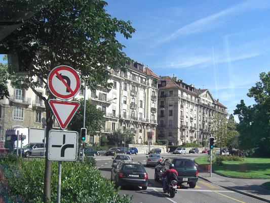 8 ジュネーブの街角